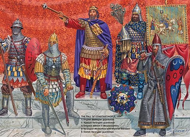 Varangian Guard at the time of the Fall of Constantinople, 1204