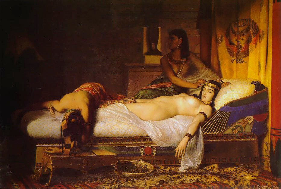 Jean-André Rixens The Death of Cleopatra