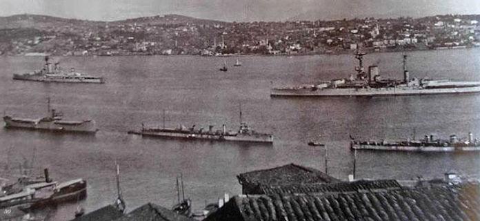 Allied Armada in Bosphorus