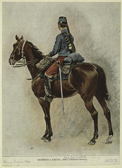 french-chasseur-a-cheval-by-edouard-deta