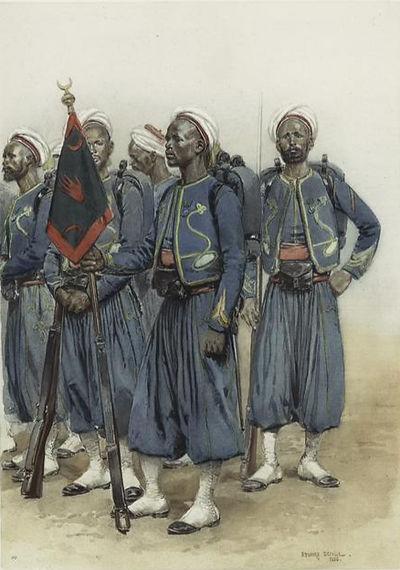 french-tirailleurs-indigènes-grande-tenu