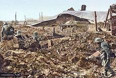 A Sturmgeschutz III Ausf E assault gun p