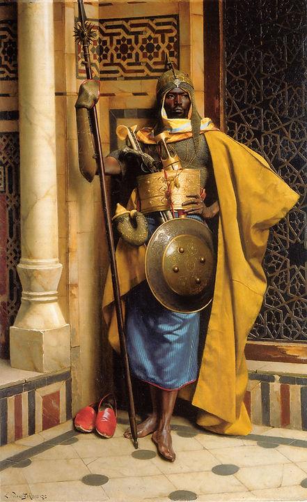 Ludwig_Deutsch-_The_Palace_Guard.jpg