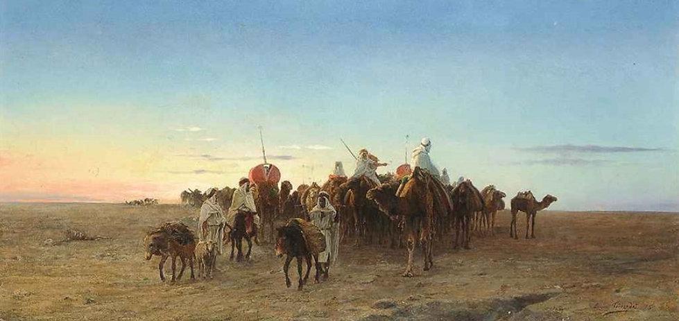The caravan at dusk, 1875.jpg