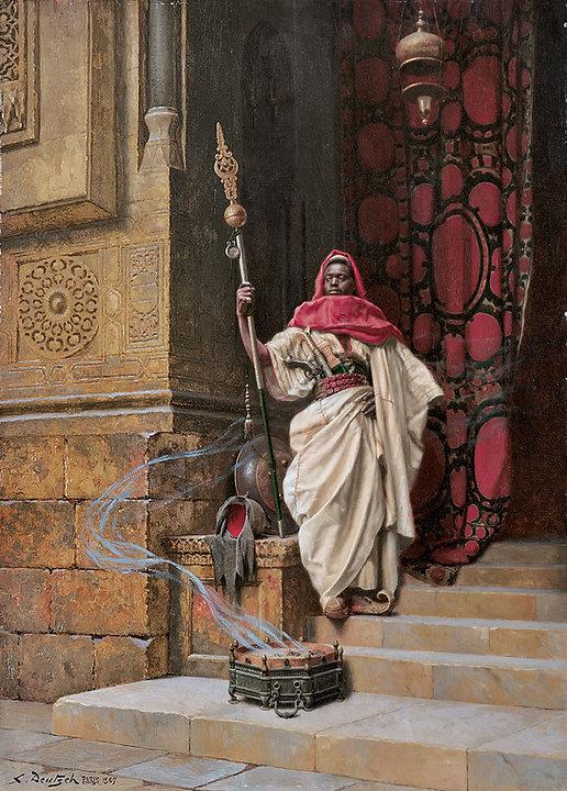 Ludwig_Deutsch_-_The_Guard,_1907.jpg
