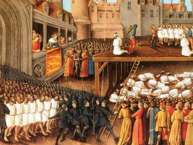 Massacre of Latins in Constantinople 1182