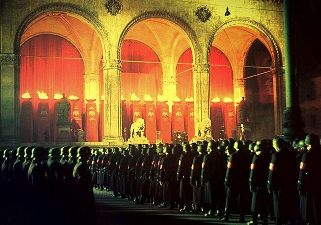 Annual oath of the SS - Munich 1938_edit