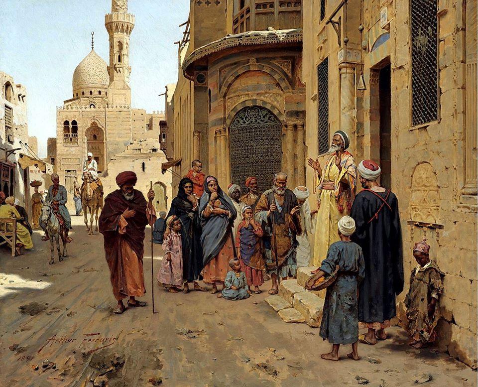 A Captive Audience ,Cairo 1891.jpg