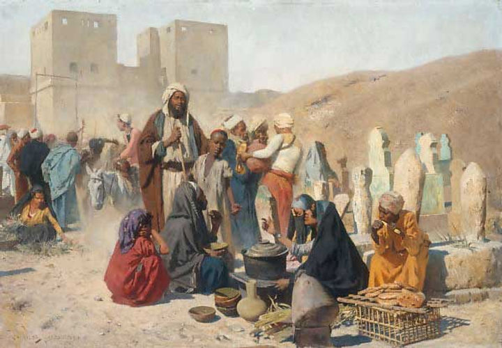 Charles Wilda, Traders in Cairo.jpg