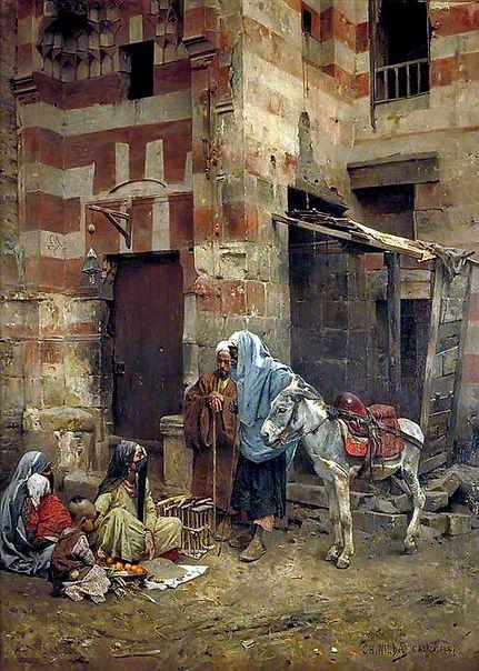 Fortune Telling , Cairo 1887.jpg