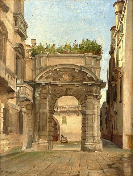 Entrance to the Morosini Palace