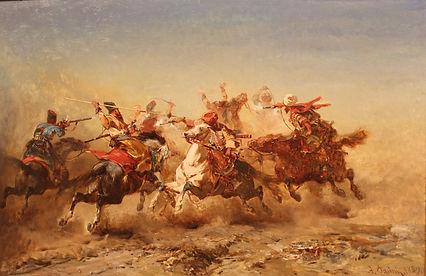 Spirited_Conflict_(1859)_by_Albert_Pasin