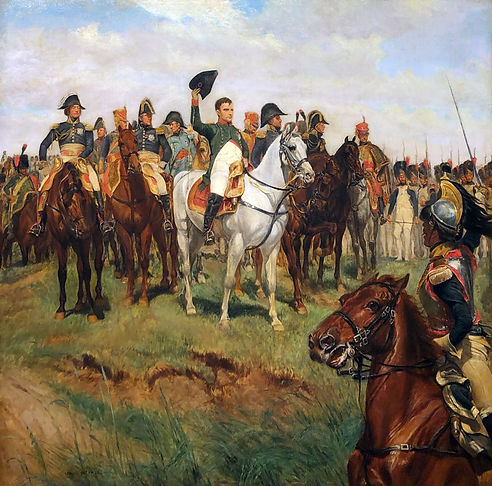 Napoleon Reviewing his Troops, Battle of