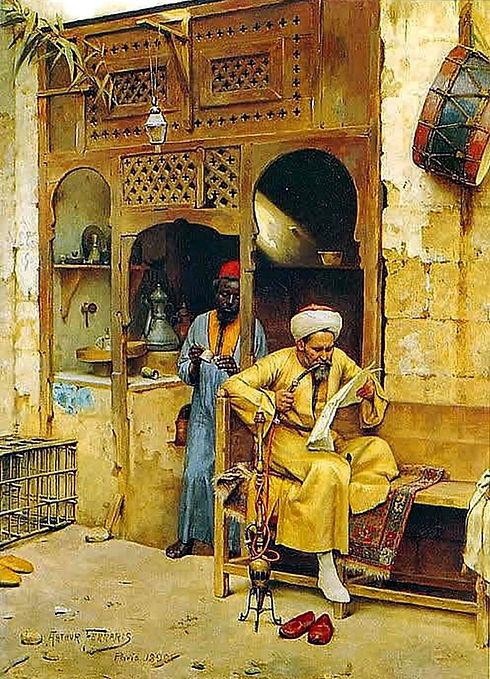 At Cairo Bazzar 1809.jpg