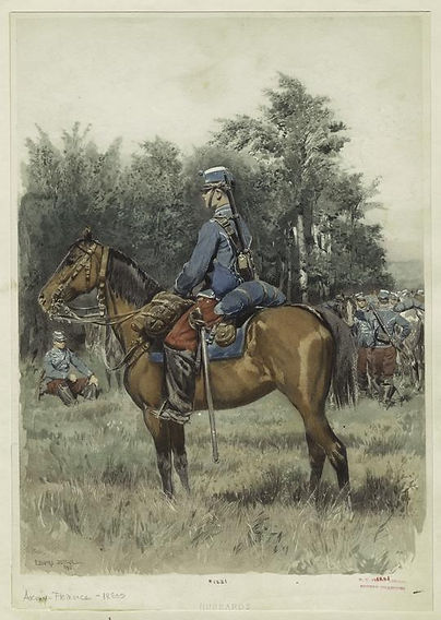 french-hussards-hussars-by-edouard-detai