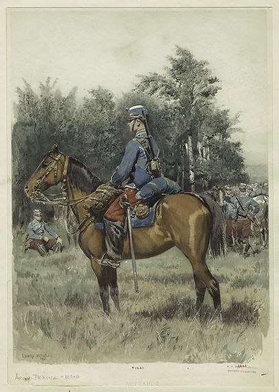 french-hussards-hussars-by-edouard-detai