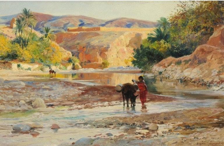 L'oued à el-kantara, 1903.jpg