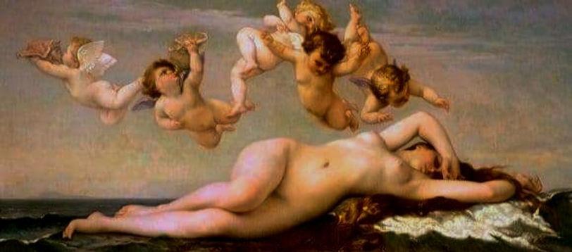 alexander cabanel, the birth of Venus