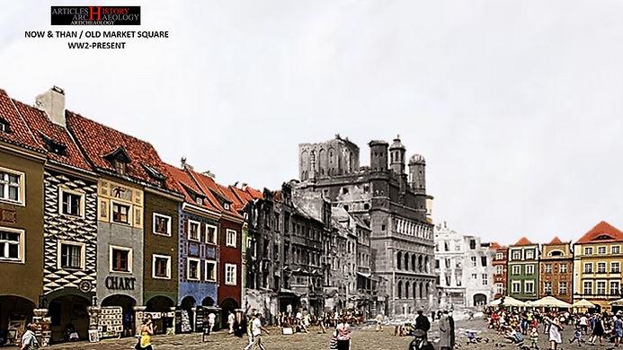 Poznan- Poland old market square