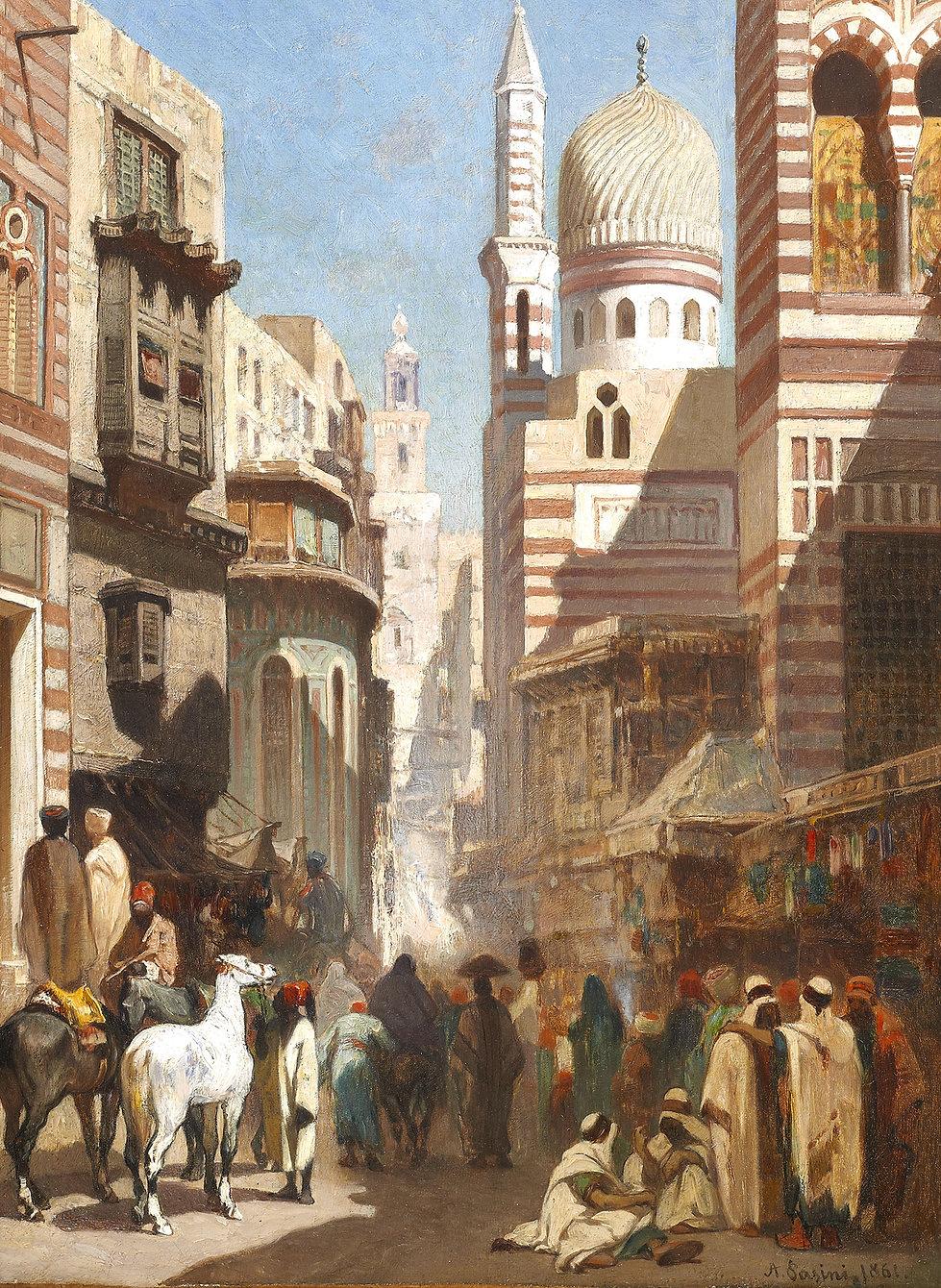 Al-Khudayri_street,_Cairo_Alberto_Pasini