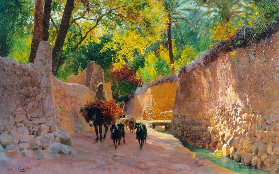 Eugène_Alexis_Girardet_-_Sur_le_chemin_d
