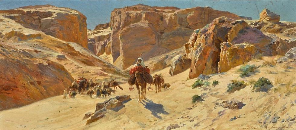 A DESERT CARAVAN.jpg
