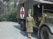 Queen Elizabeth in Auxiliary Territorial