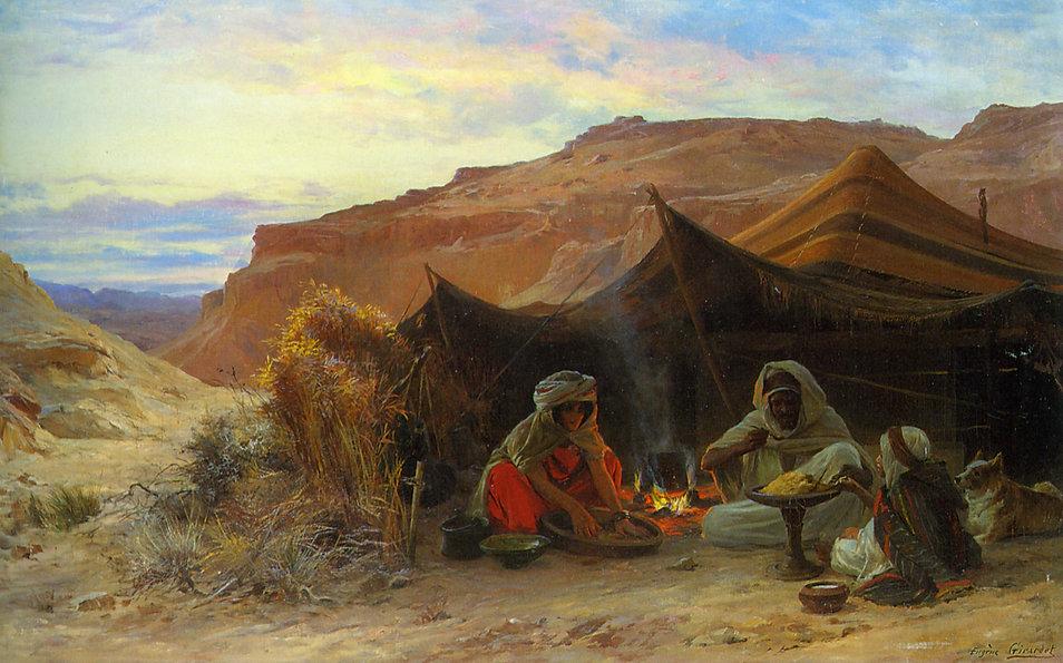 Eugène_Alexis_Girardet_–_Bedouins_dans_l