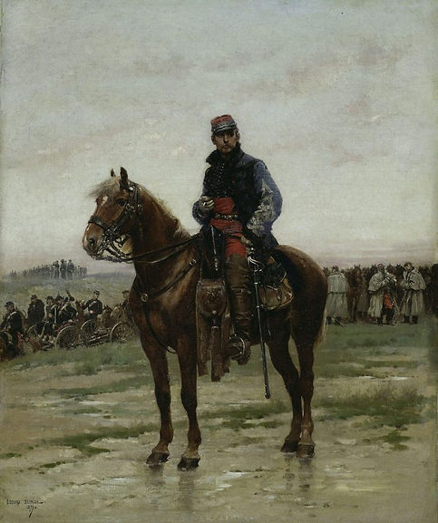 a-mounted-officer-1877-by-Édouard-detail