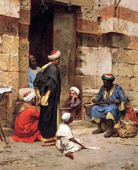 Musical instrument Player - Cairo 1889.j