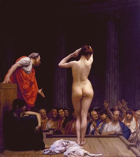 Jean_Leon_Gerome_Selling_Slaves_in_Rome