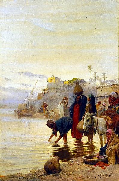 Charles_Wilda_-_Washerwomen_on_the_Nile.