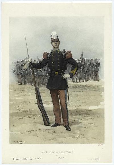 french-ecole-spéciale-militaire-1885-mil