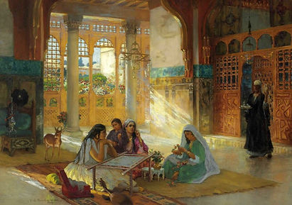 Interior of an Arab Palace by Frederick