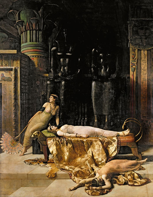 John Collier The Death of Cleopatra