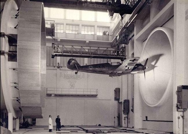 Messerschmitt BF 109 E3 wind tunnel -194