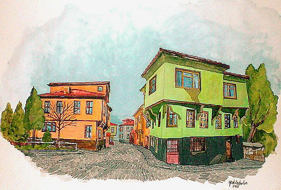 Eskişehir old houses
