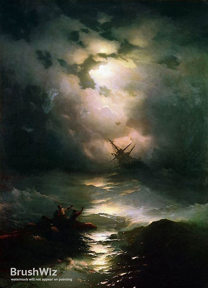 The_Shipwreck_On_Northern_Sea_by_Ivan_Ai
