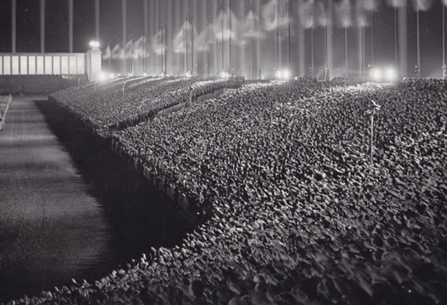 Nazi Rally, Cathedral of Light -1937.jpg