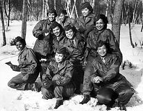 Members of the Women's Army Corps (WAC)