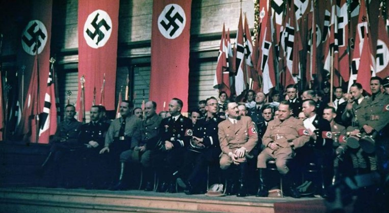 NAZI PARTY MEETING