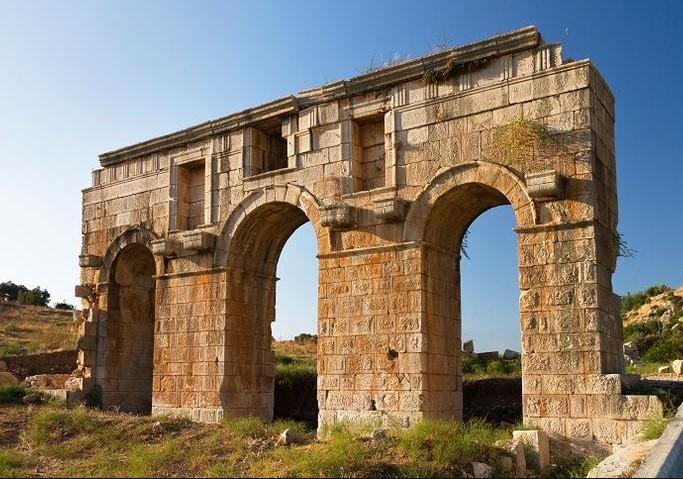 Roman Monumental Gate