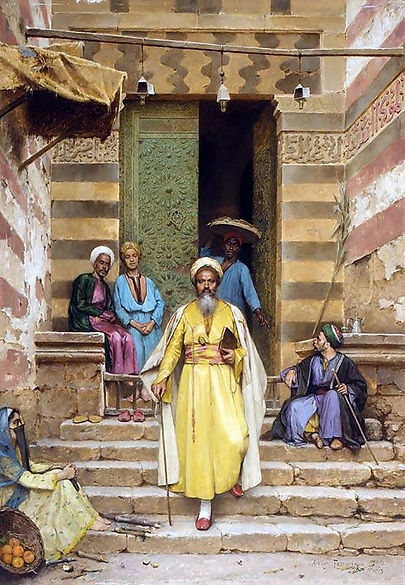 The Door Of The Mosque , Cairo 1889.jpg