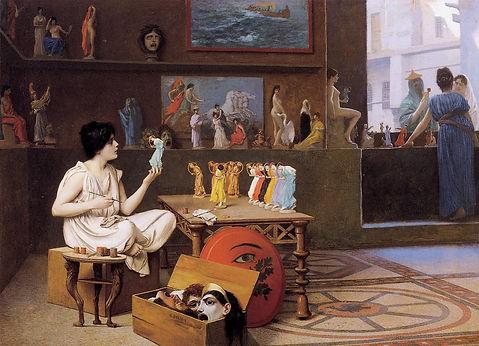 Gérôme_-_Painting_Breathes_Life_into_Scu