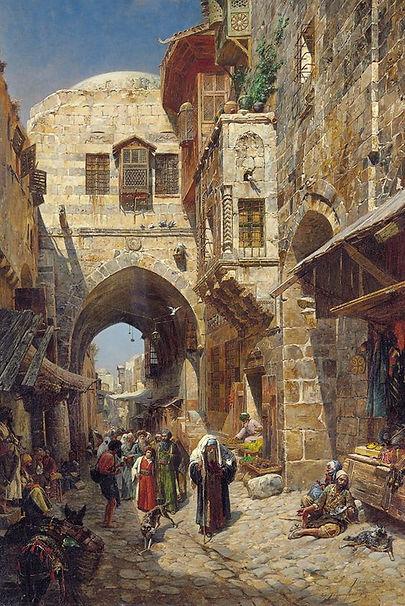 gustav bauernfeind, temple mount, Jerusa