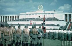 NAZI PARTY PARADE