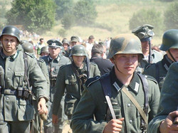 Germany-marching-through-Poland-1939-in-