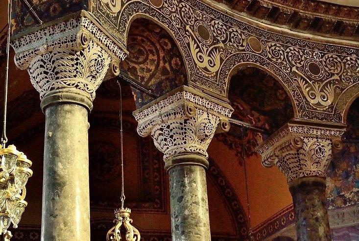 Hagia Sophia Columns