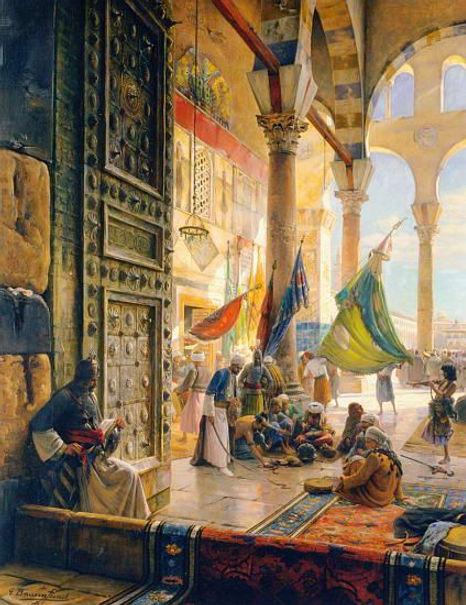 Forecourt_of_the_Ummayad_Mosque,_Damascu