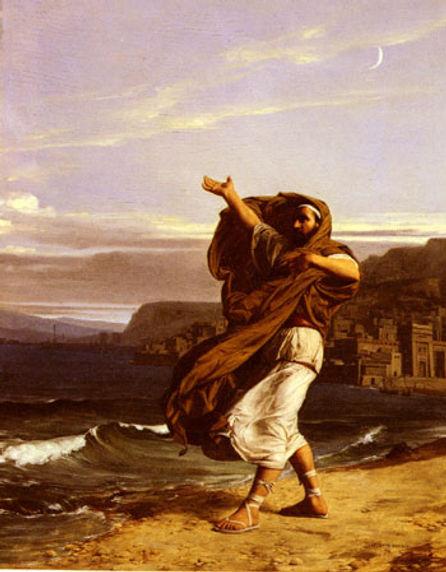 Demosthenes Practicing Oratory..jpg